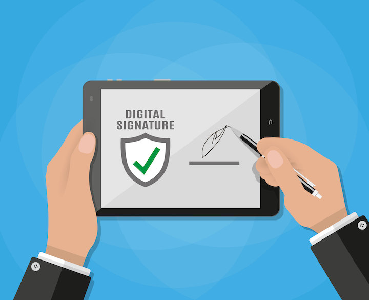 Invitation to Register for Digital Document Approval and Signing